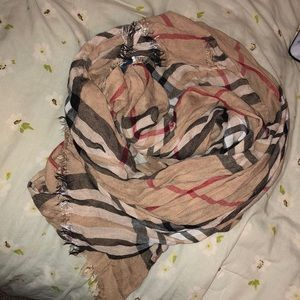 KNOCK OFF BURBERRY PLAID SCARF